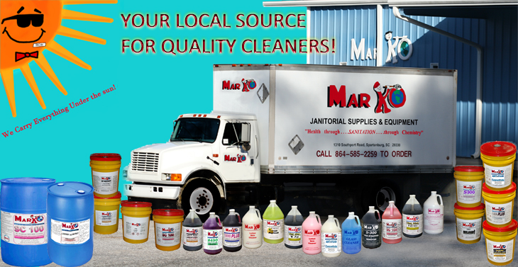 Your local source for quality cleaning supplies!